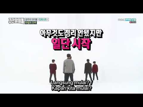 "[Indo Sub] Infinite ""Gashina"" (Magic Dance)Weekly Idol"