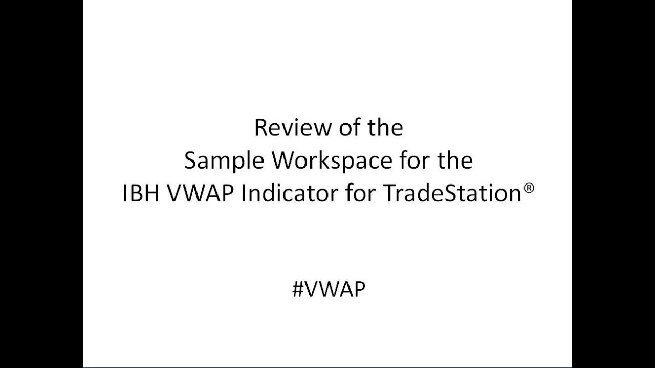 VWAP Indicator - Indicators by Harvey