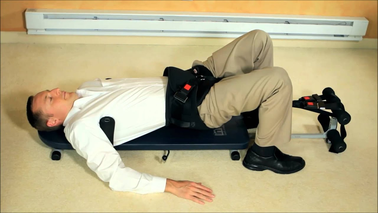 Horizontal Back Decompression At Home Youtube