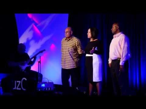 The incalculable cost: Jessica Delgado, Dave Gomez, Bilal Chatman & Jim Thomas at TEDxSantaCruz