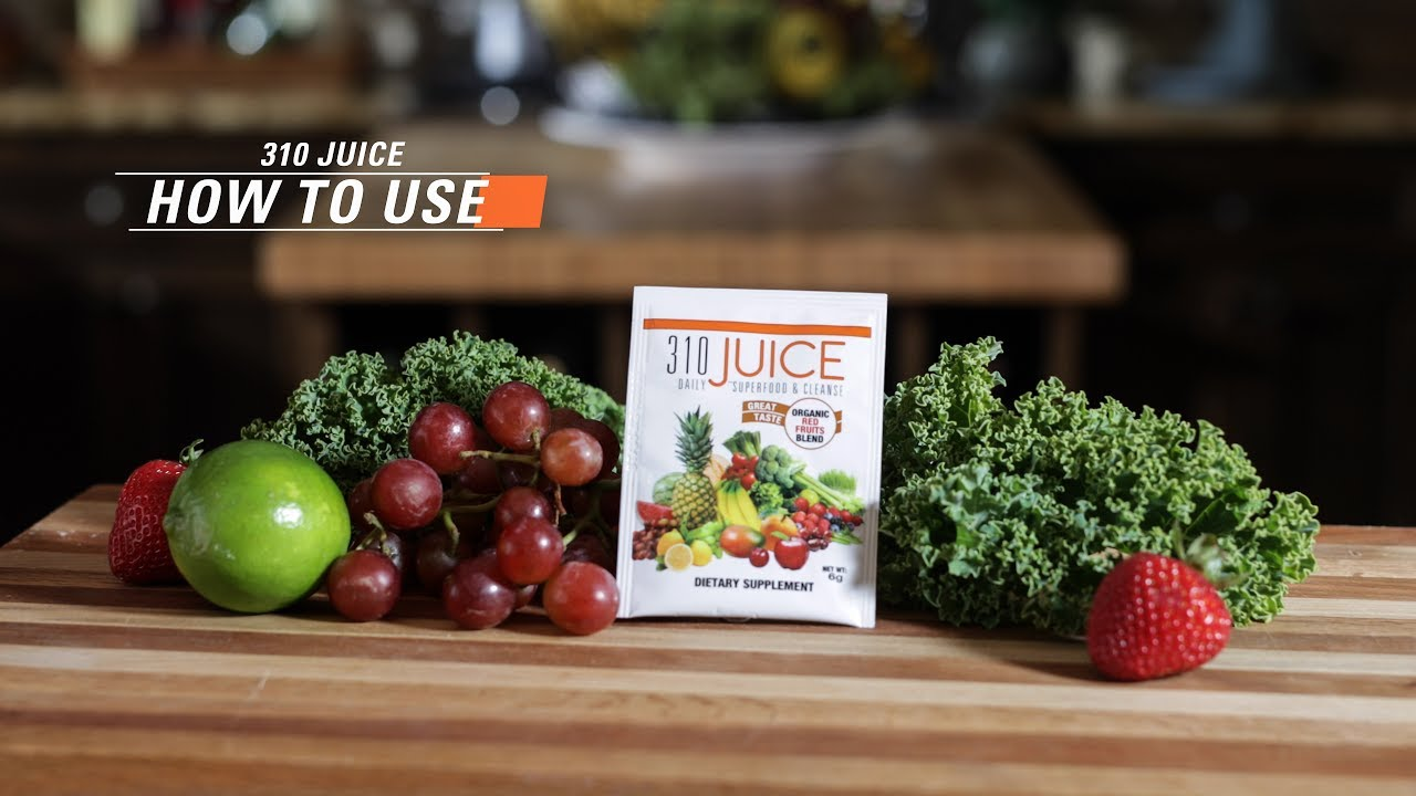 how to use 310 juice | 310 starter kit | 310nutrition