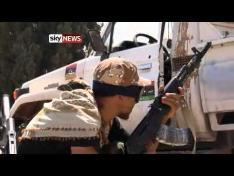 LIBYA: Fighting rages on in Capital Tripoli 8/25/11