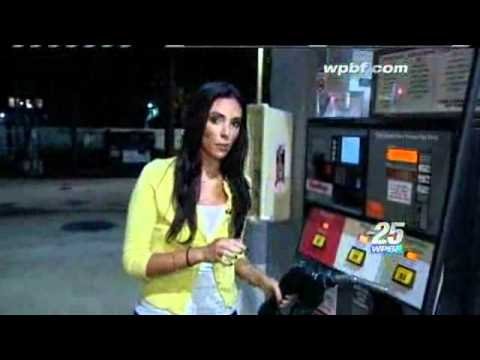 Gas Pump Pilfering Caught On Camera