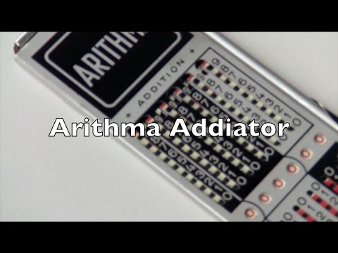 Addiator Arithma Review / HowTo