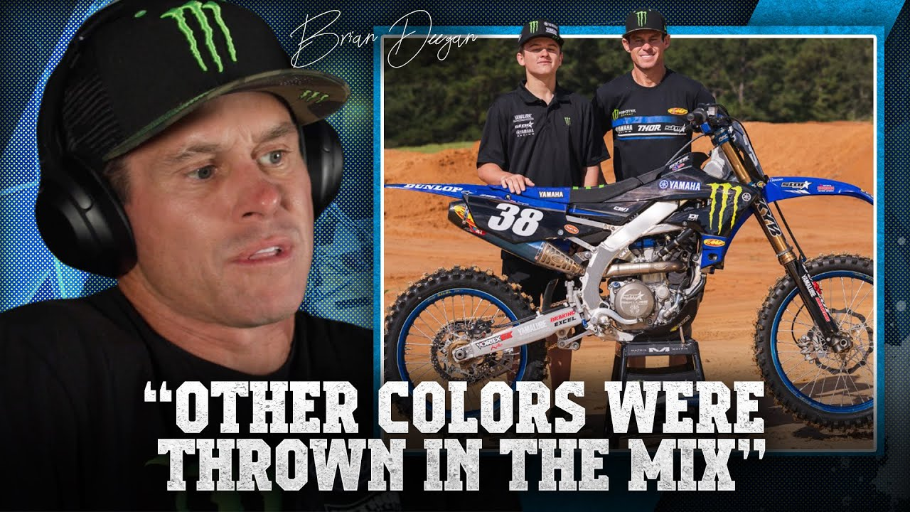 """""""It's not the money, all of the contracts were close!"""" Brian Deegan on moving to Star Yamaha Racing"""