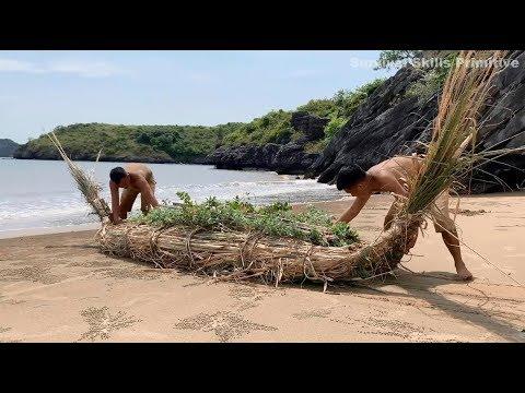 Wild island survival challenge - Survival skills on desert island (part 3)