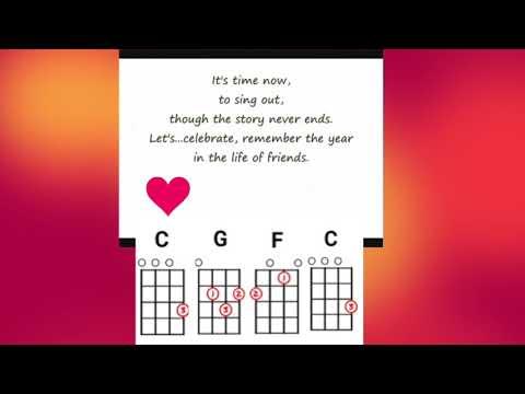 Seasons Of Love - Key Of C
