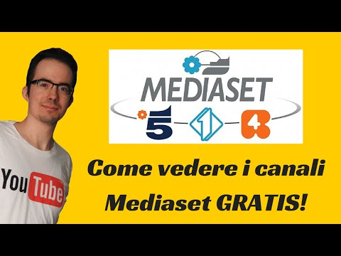 Come vedere i canali MEDIASET in streaming GRATIS! (Legale)