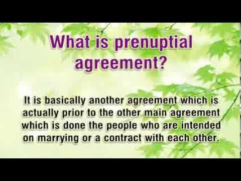 Prenuptial Agreement Sample - What You Need To Know And Why Use