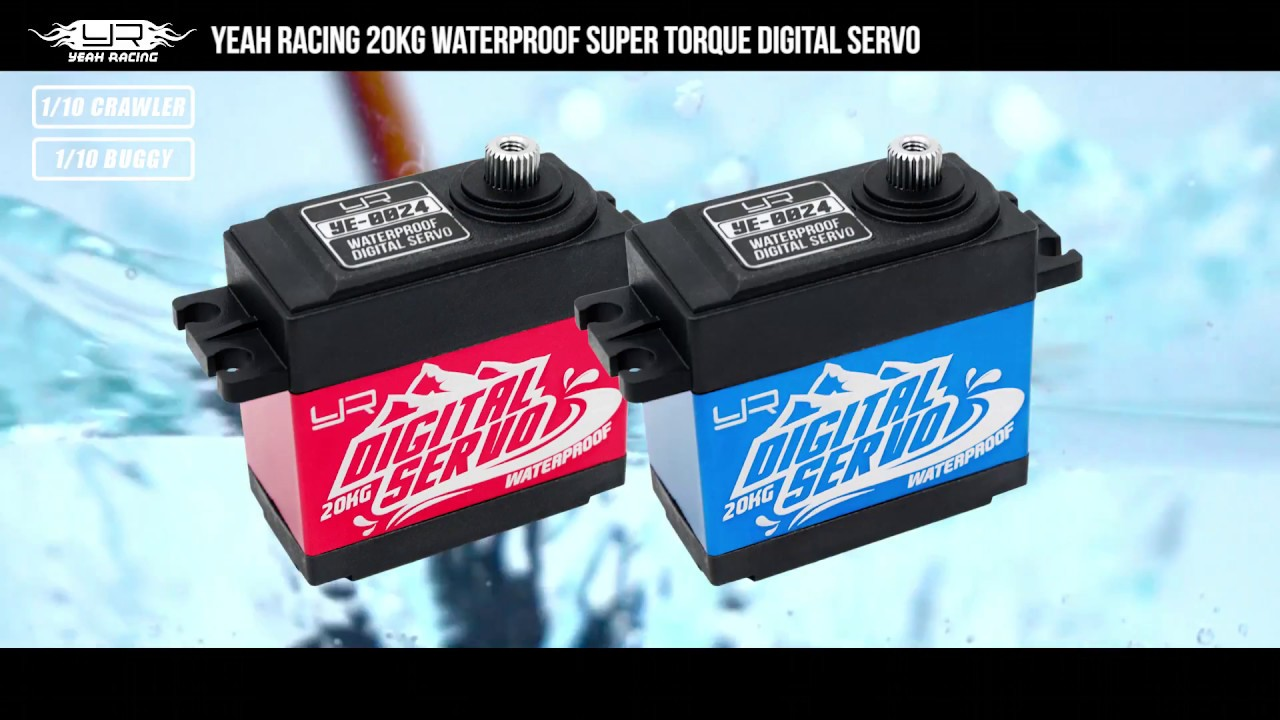 Yeah Racing Waterproof High Torque Servo Underwater