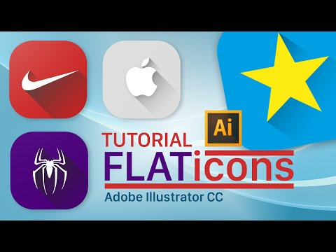 Tutorial Illustrator: Icono Flat Design/Material Design