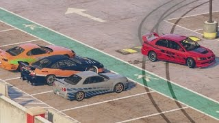 GTA 5 Los Santos Drifting Fast And Furious Edition