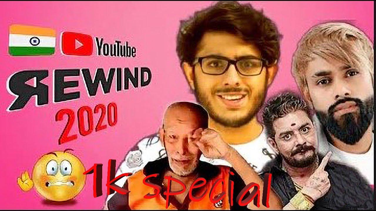 Youtube India REWIND 2020 | dada ki roast | must watch