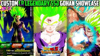 HE IS A MONSTER... Custom LR Legendary SSJ Gohan Custom Showcase | Dragon Ball Z Dokkan Battle