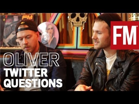 Oliver answer Twitter questions from Future Music Magazine