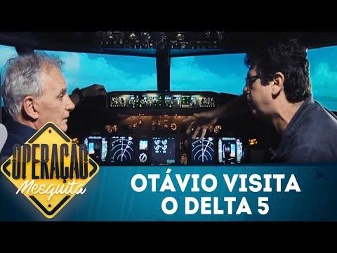 Operação Mesquita (16/02/18) | Otávio Mesquita visita o Delta 5