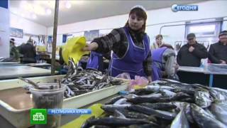 ВКрыму резко упали цены на рыбную продукцию