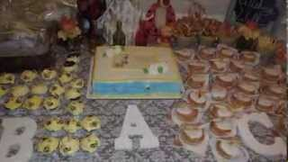 Triplet Baby Shower and Gender Reveal