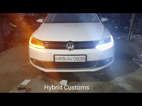 VOLKSWAGEN JETTA  Custom Headlamps by Hybrid Customs
