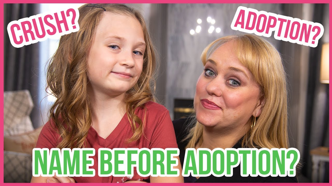 What Was My Name Before Adoption?   Anavaeh Q&A!   She Answers All!