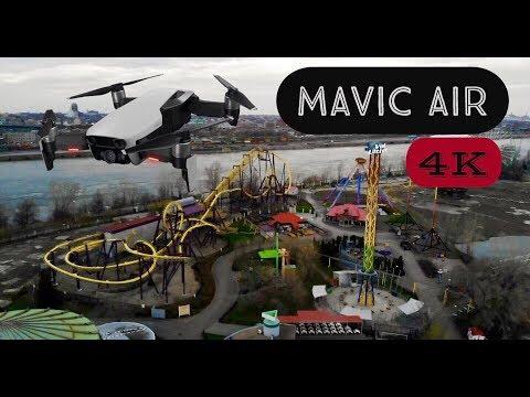 Montreal, Canada - 4k - DJI Mavic Air (Drone Ep.6)