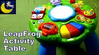 Leapfrog Animal Adventure Learning Activity Musical Table Review
