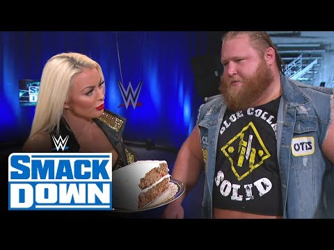 Otis woos Mandy Rose with holiday fruitcake: SmackDown, Dec. 27, 2019