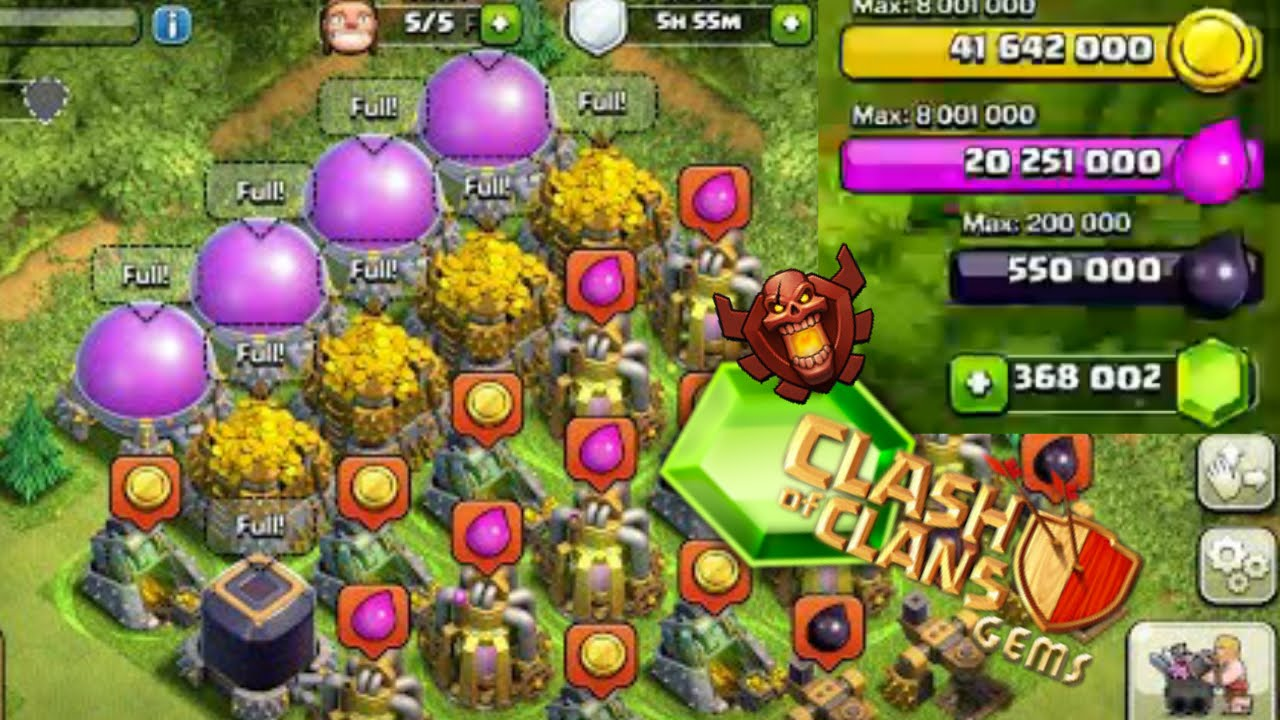 Clash Of Clans cheats