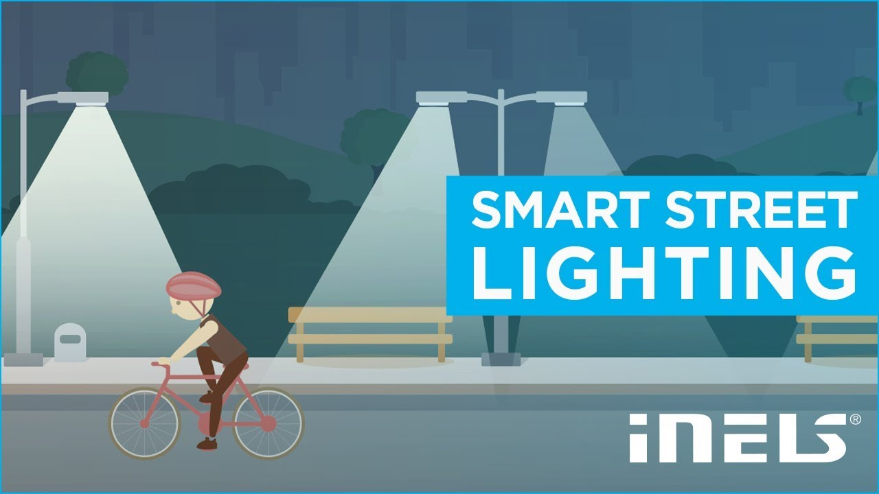 Ambient Light Sensor >> iNELS SMART CITY | Smart street lighting - YouTube