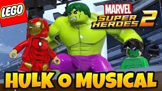 LEGO Marvel Super Heroes 2 PT BR #25 - HULK, O MUSICAL !?