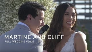 Martine and Cliff: Full Wedding Vows
