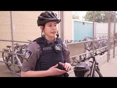 Peace Officers Patrol On Two Wheels