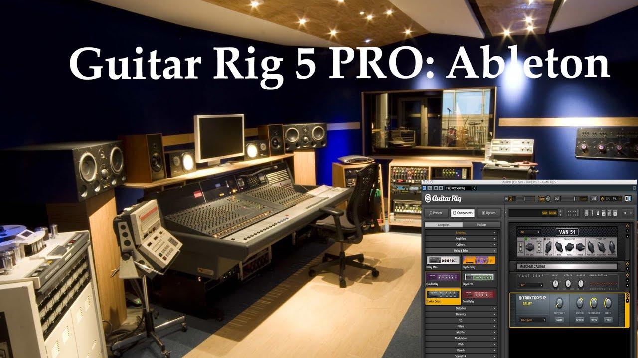 ableton guitar rig plugin