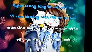 Karaoke loi anh chua the noi