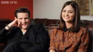 Doctor Who: Matt Smith & Jenna-Louise Coleman on 'The Snowmen' Christmas Special - BBC One