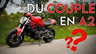 Ducati MONSTER 821 A2 / Tu dois rouler au couple ?! TEST n°235