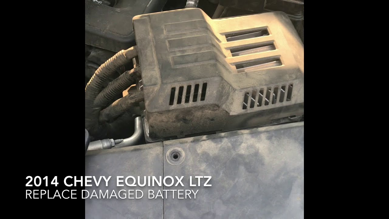 2014 Chevy Equinox - Battery Replace