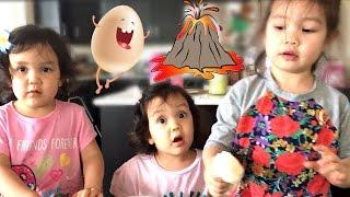 CRAZY EGG VOLACANO! - April 08, 2017 -  ItsJudysLife Vlogs