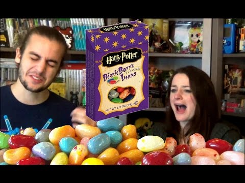"🍭 Défi Harry Potter : Bonbons Dragées Bertie Crochue Surprise "" Vomi & Crotte de nez "" 🍬"