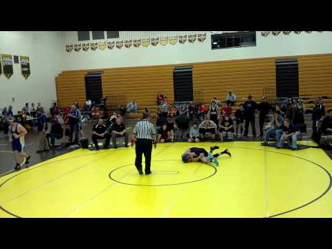 Mt Orab Middle School Dual Tournament - Match 2 Round 2