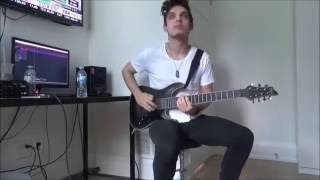 Architects   The Empty Hourglass   GUITAR COVER FULL (NEW SONG 2016) HD