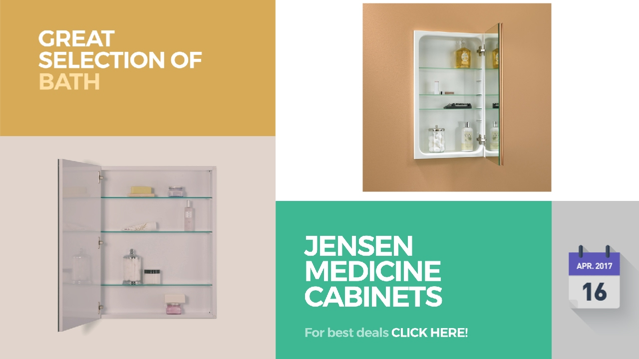 Jensen Medicine Cabinets Collection Great Selection Of Bath ...