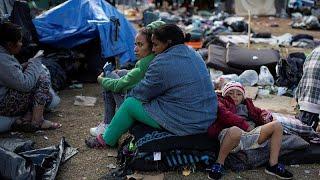 Los migrantes de la caravana, atrapados en Tijuana