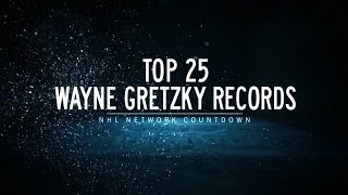 NHL Network Countdown: Top 25 Wayne Gretzky Records Video