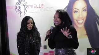 Yandy Smith Interview with Shaneika Speaks at Mielle Organics Event