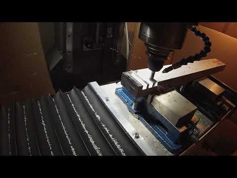 Frästest - Wintermill VMC 420 [diy epoxy granite cnc mill]