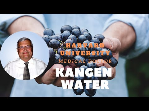 Dr Horst Filtzer and KANGEN WATER