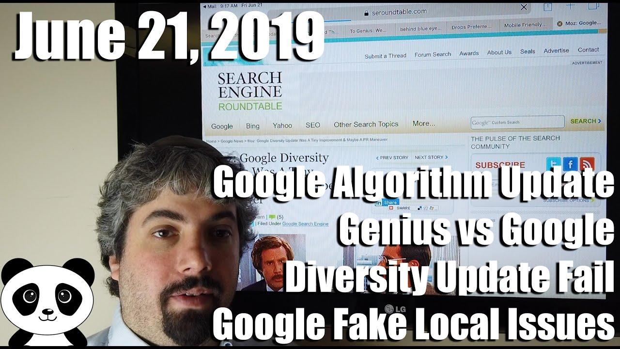 Google Algorithm Shift, Google vs Genius Lyrics, Google Search Console,  Maps, YouTube & More
