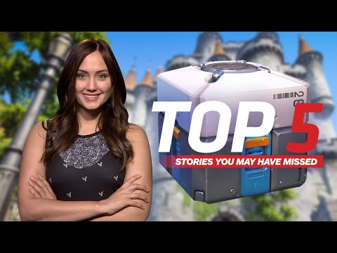 Loot Boxes Under Consideration As Gambling - IGN Daily Fix
