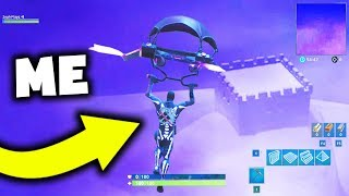 I FLEW To The Fortnite ICEBERG And Found This..